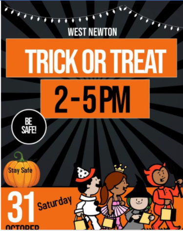 trick or treat announcement